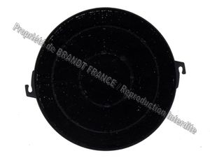 Filtre charbon 190x18mm typ t211