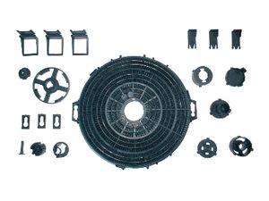 Filtre charbon 210x34mm typ d210
